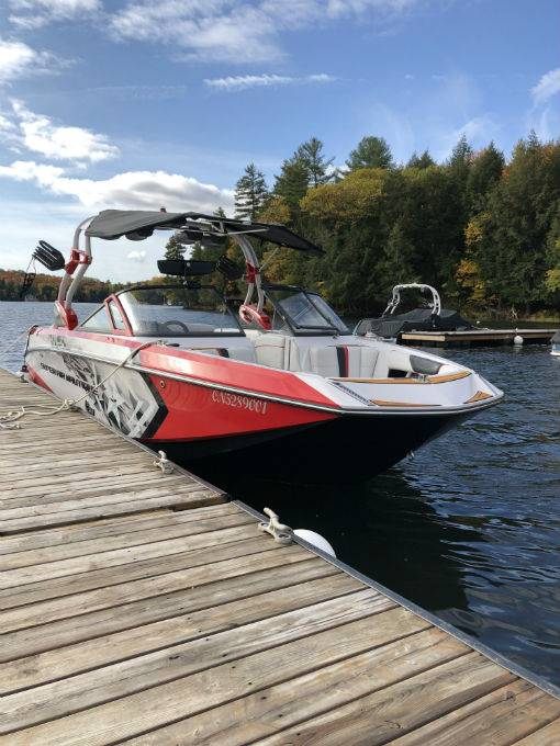 Pre-Owned 2015 NAUTIQUE Super Air G23