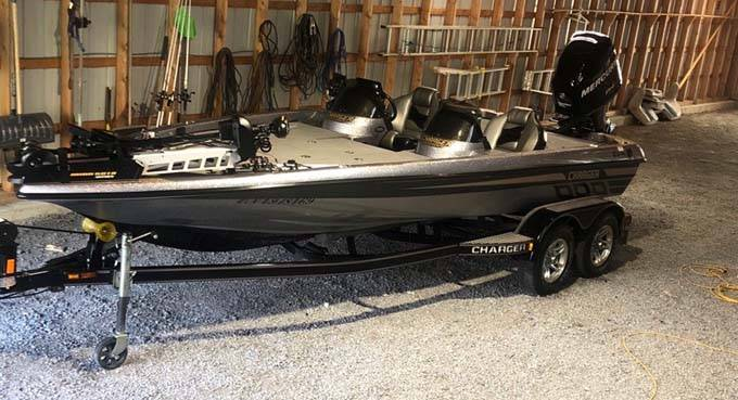 Pre-Owned 2011 CHARGER Bass Boat 496